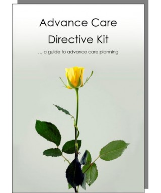 Advance Care Directive Kit for one person