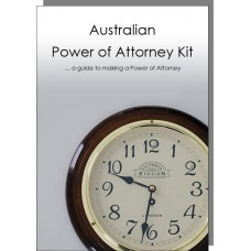Australian Power of Attorney Kit - 1 adult pack