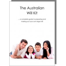 Australian Will Kit for one person