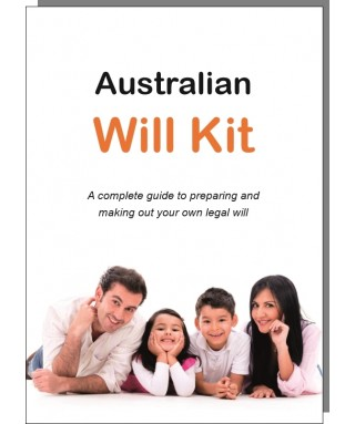 The Australian Will Kit Family Pack