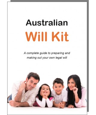 Australian Will Kit two person pack